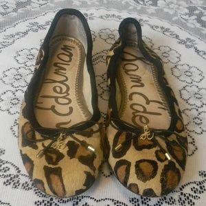 Sam Edelman Felicia Leopard Ballet Flats  Size 5